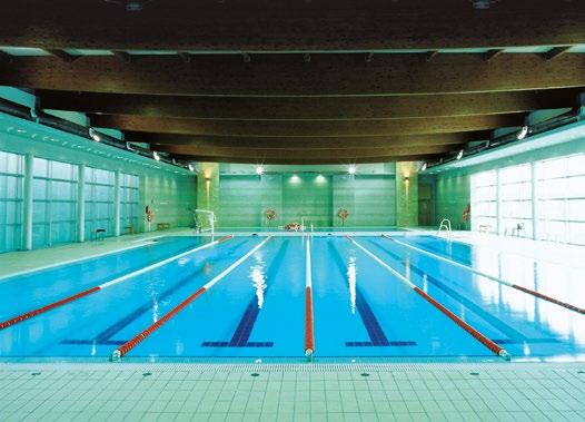 construcci n de 2 piscinas cubiertas en las instalaciones